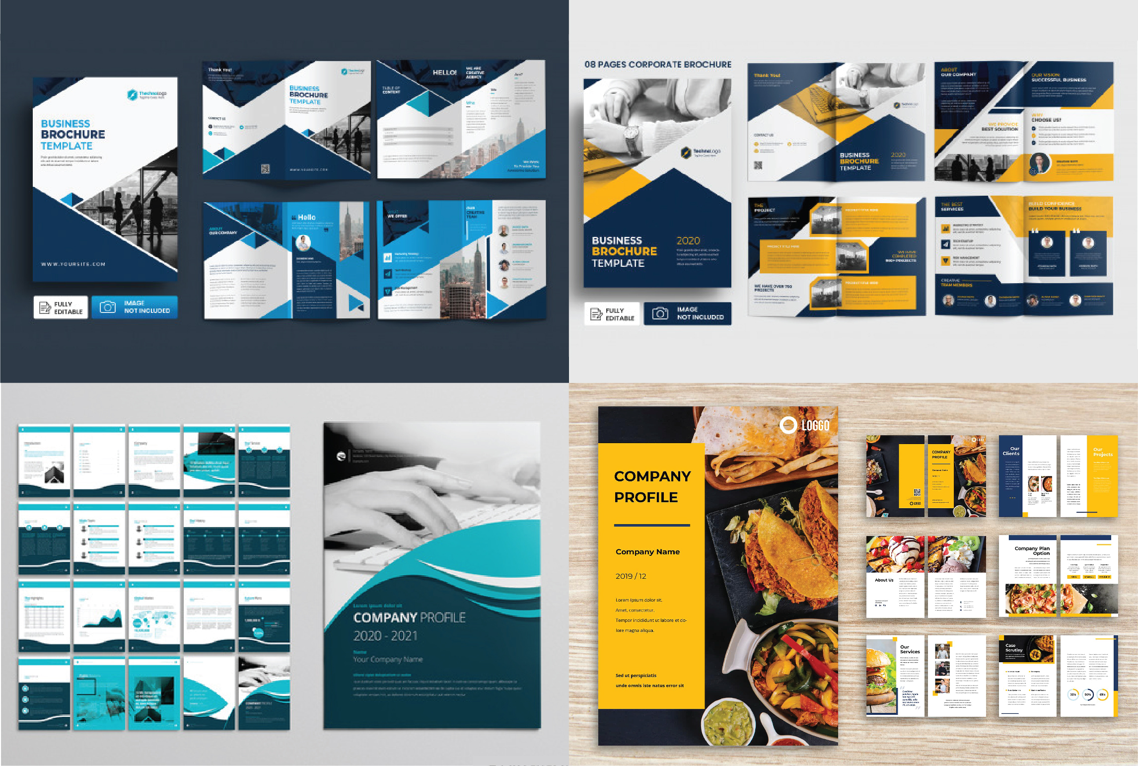I will professionally design your any type cover,  poster,  flyer,  banner,  company profile,  booklet