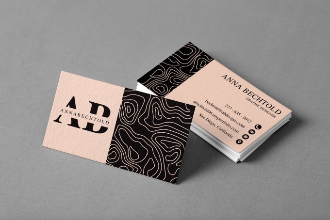 I will design an elegant business card & stationery