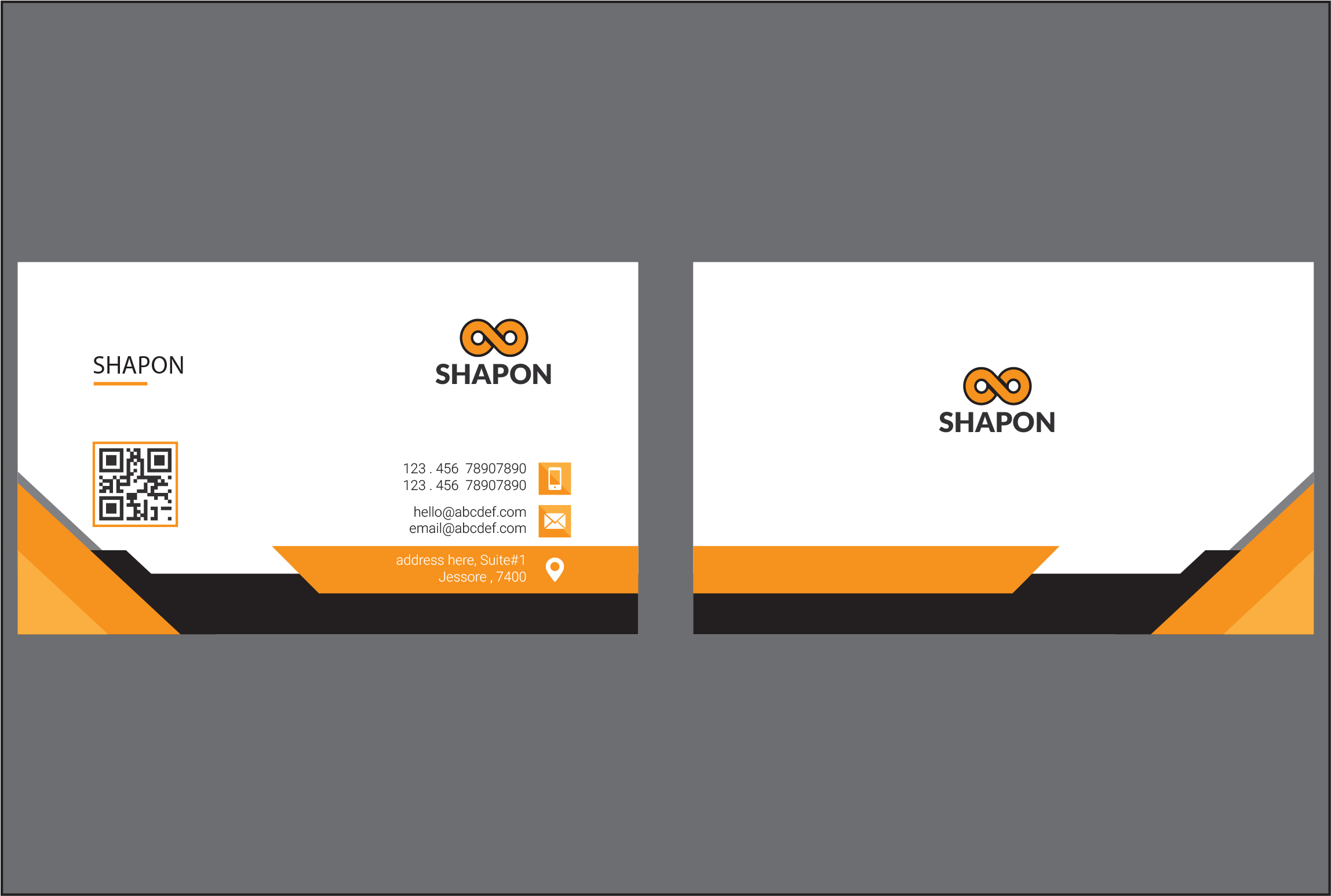 I will do luxury bussiness card design