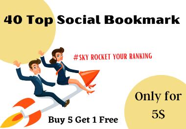 20 Top Social Bookmark backlinks for sky rocket you website ranking in 24 hour