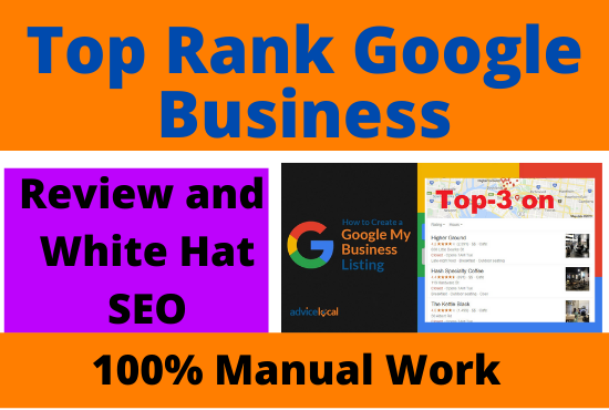 Top rank your google Business page on google maps with white hat method