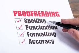 I will proofread your PDF,  content images and documents