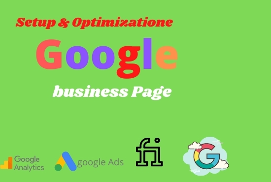I will Setup your google my business Page