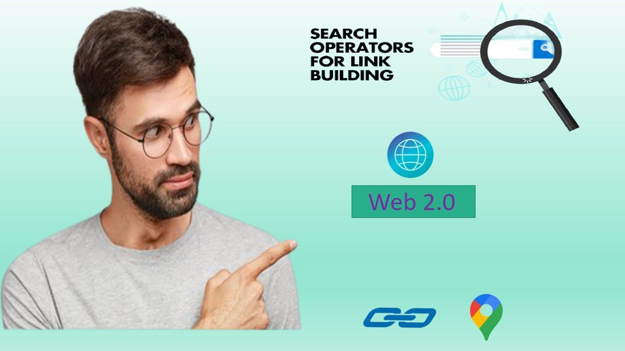 I will build 20 web 2.0,  Profile Backlinks plus blog comments,  Maps
