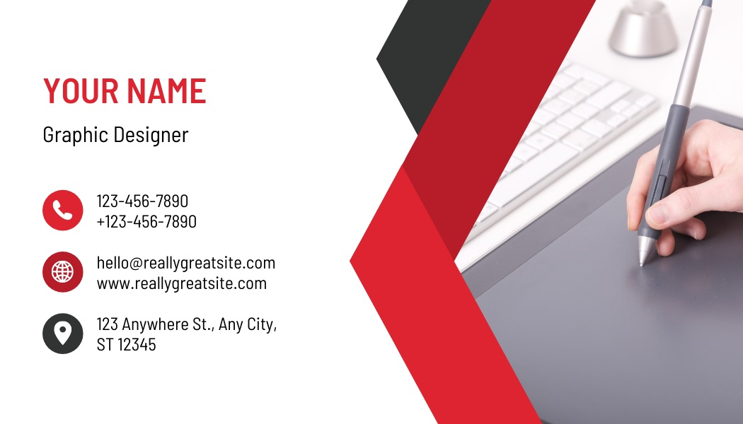 I will design a simple business card