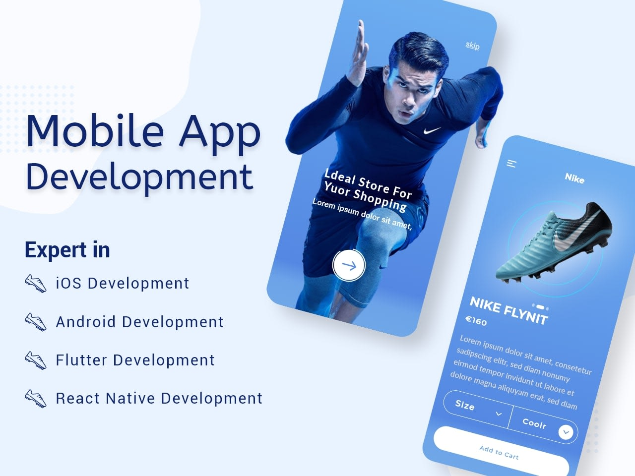I will design android mobile app,  ios mobile app,  and mobile app development