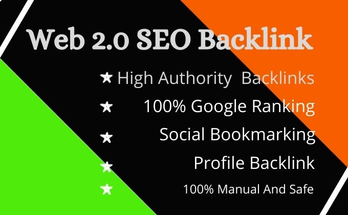 I will build web 2 0 high authority backlinks for your website