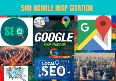 I will Originate 500 map citation for local seo