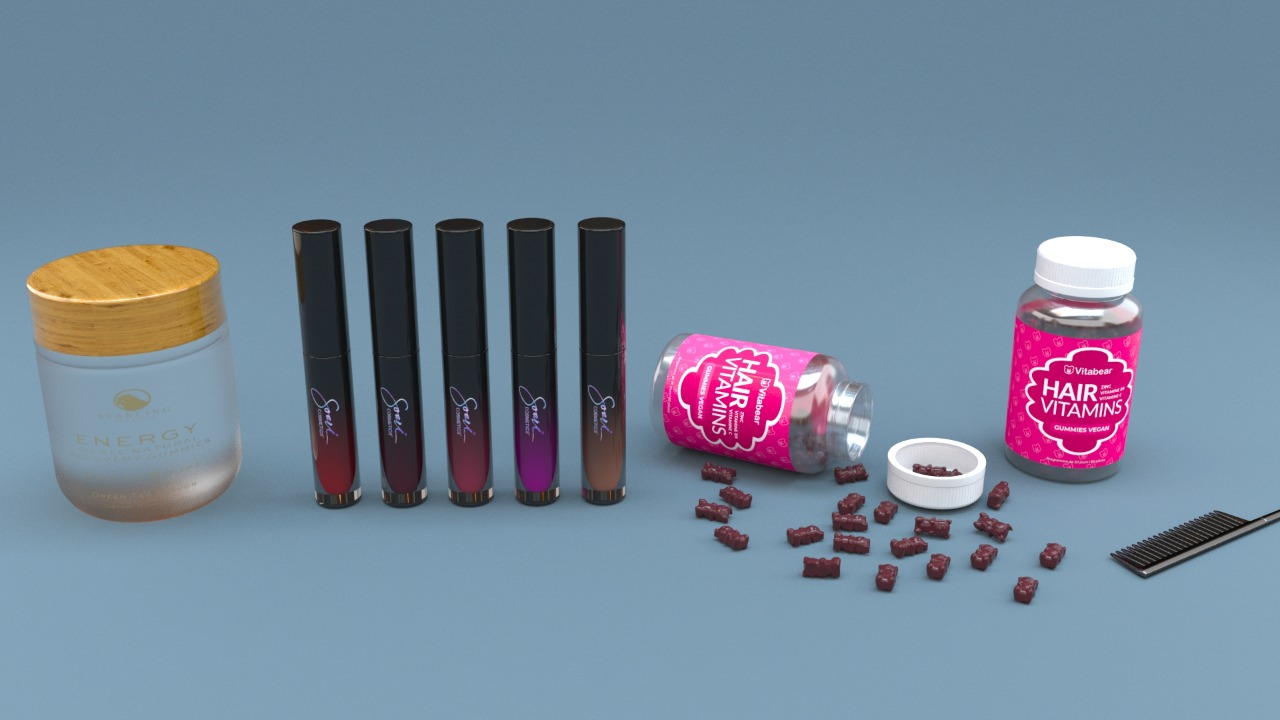 Create 3D model advertisement for your business.
