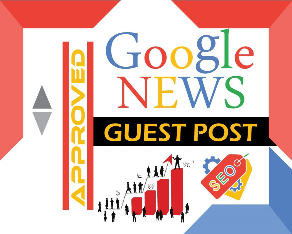 I will do guest post on my google news approved site dofollow parmanent post