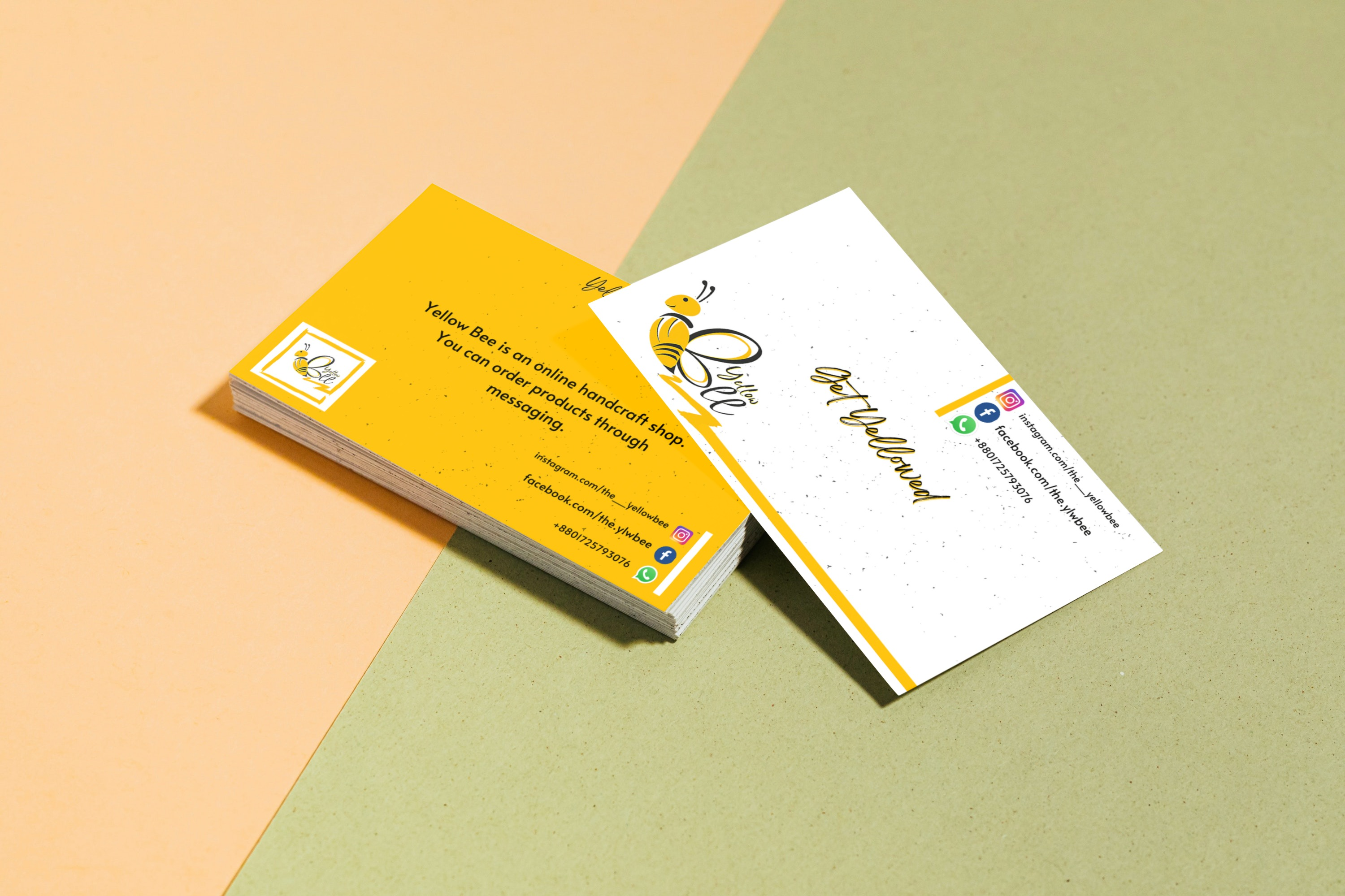 I will make professional businesses cards for your brand or company