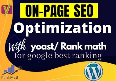 I will do word press on-page SEO optimization