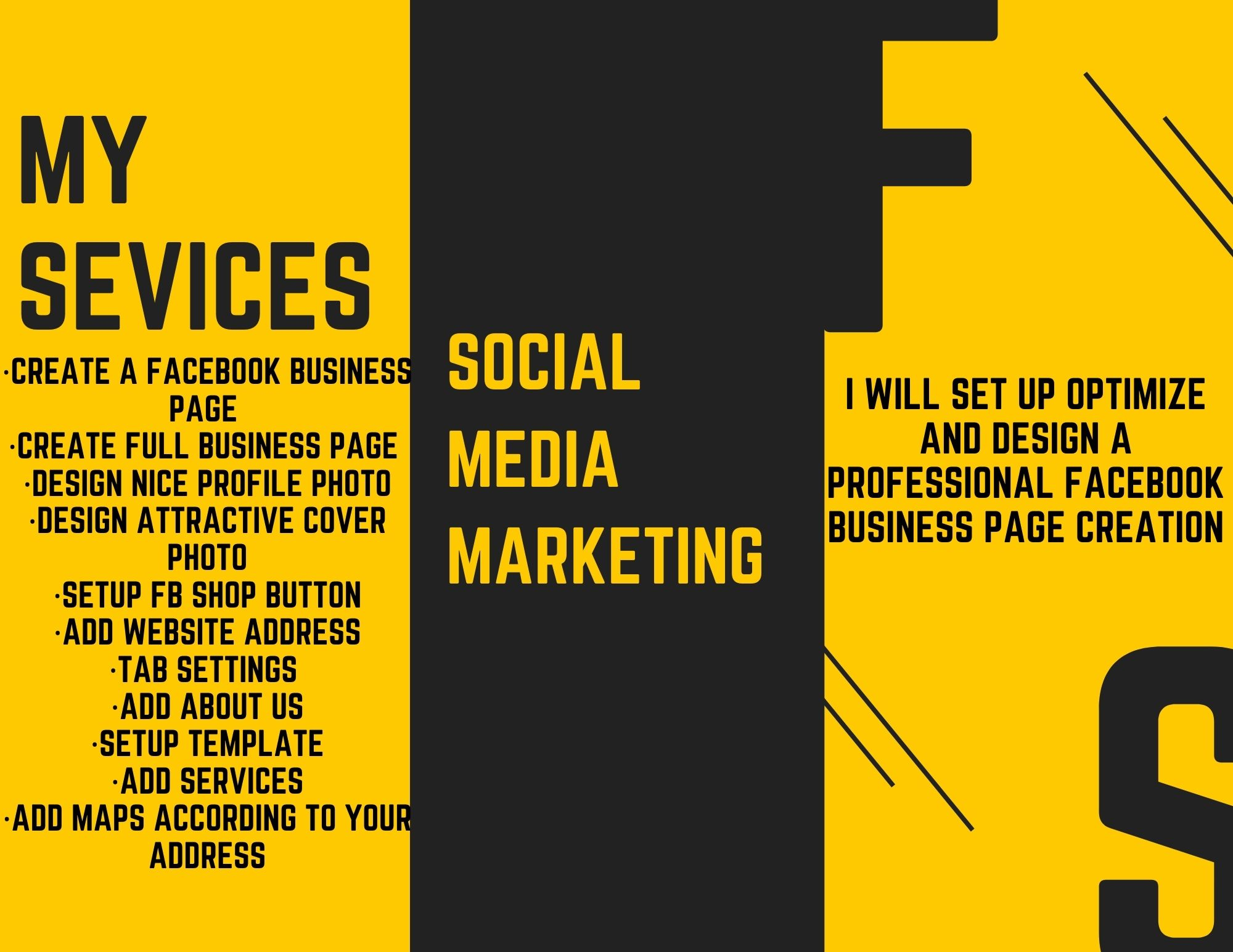 I will design and manage your Facebook page