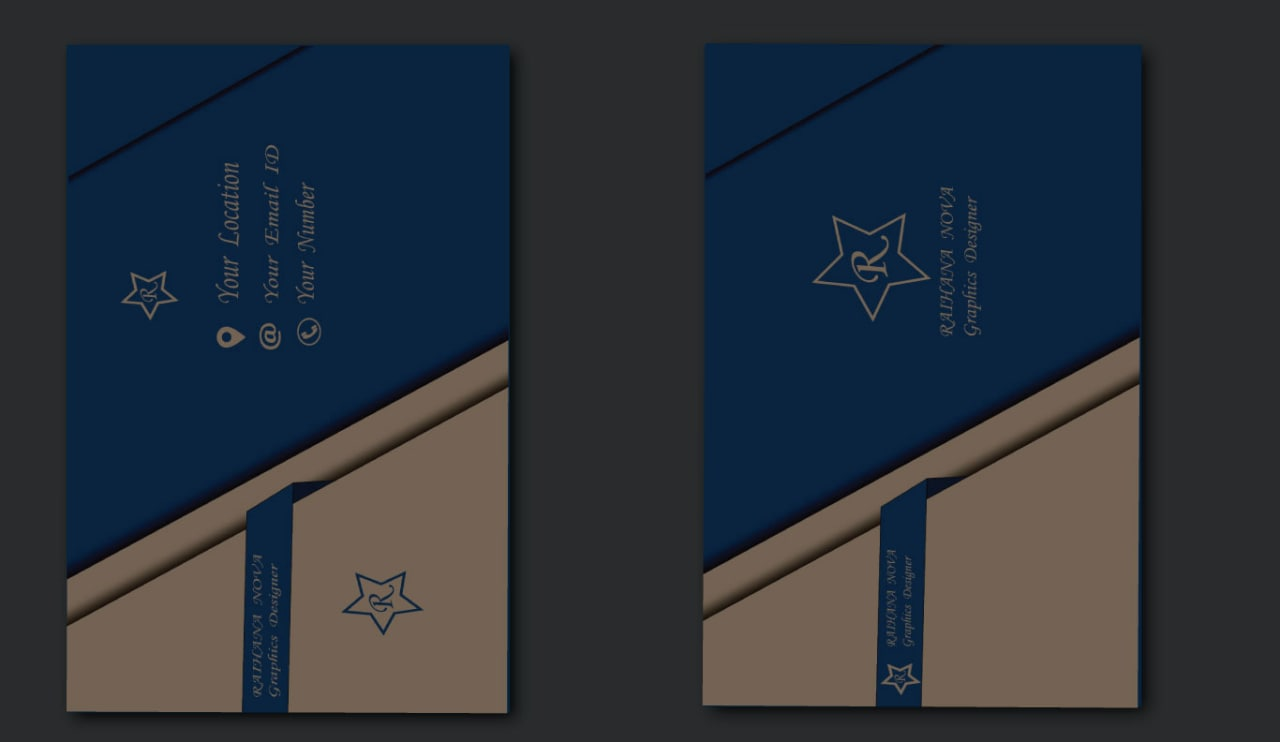 I'll design professional and spanking Business card