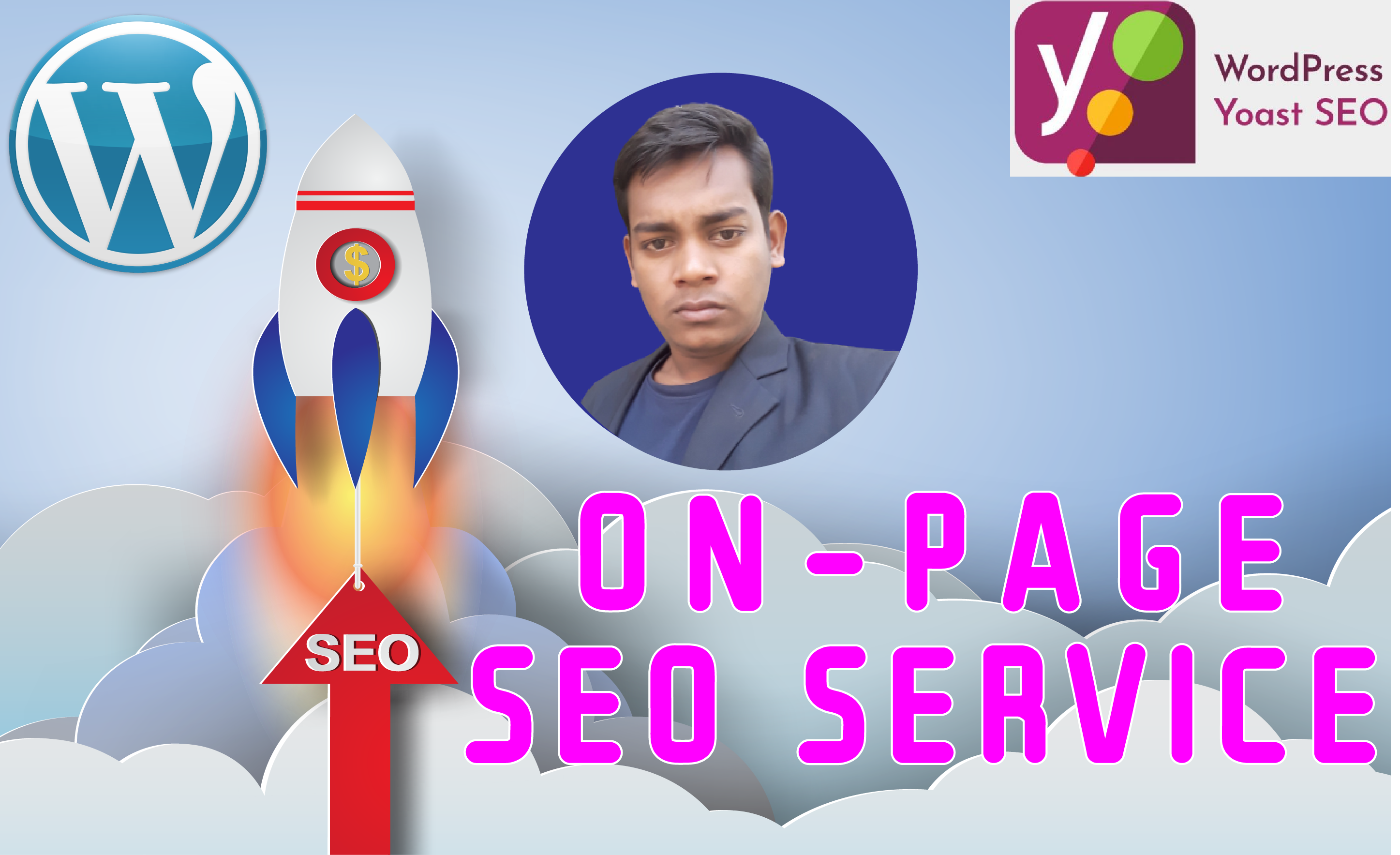 I will provide you ON-page SEO service to do rank your website as an expert SEO just 2 days