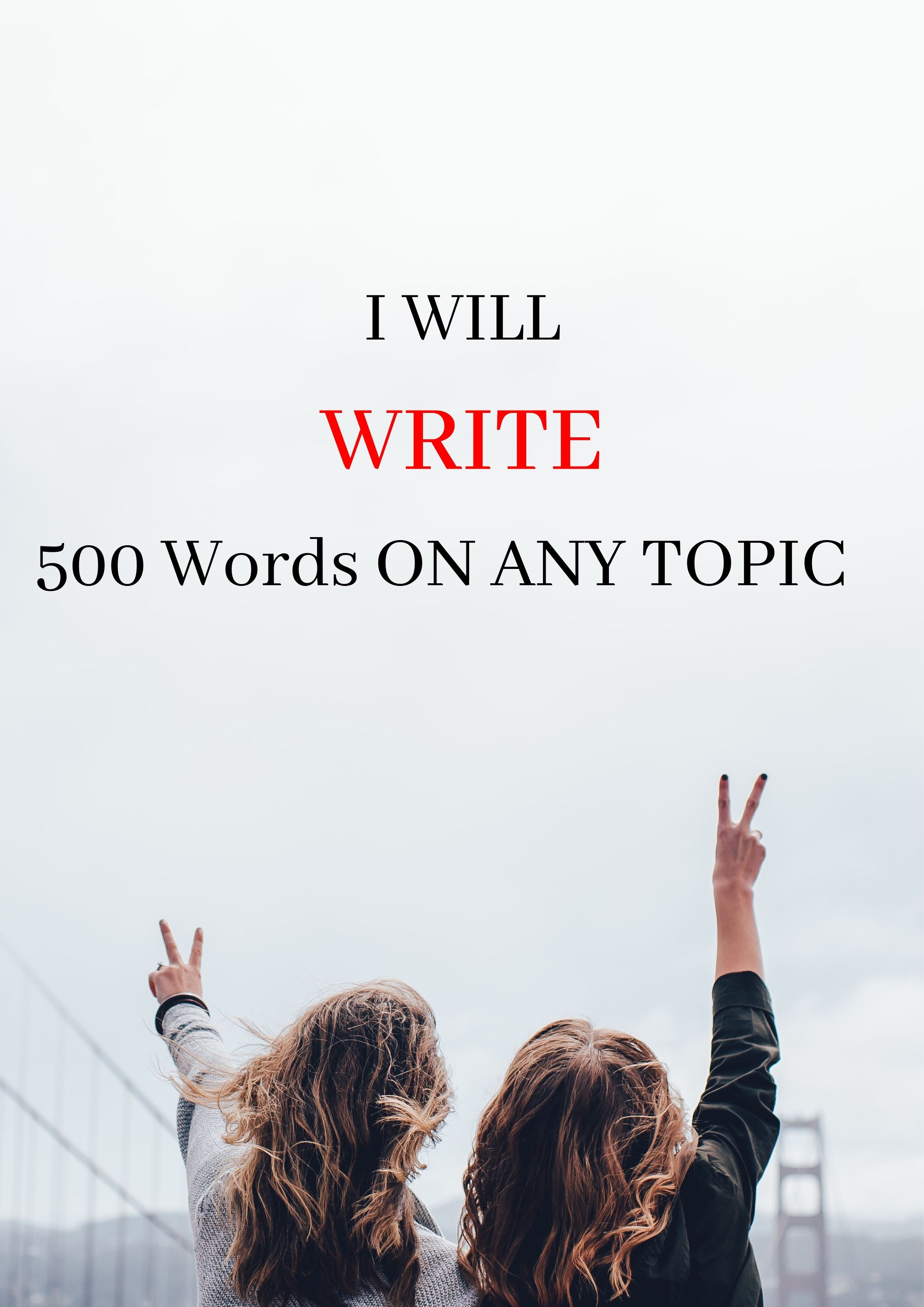 500 words Orignal and Unique Article within 20hrs
