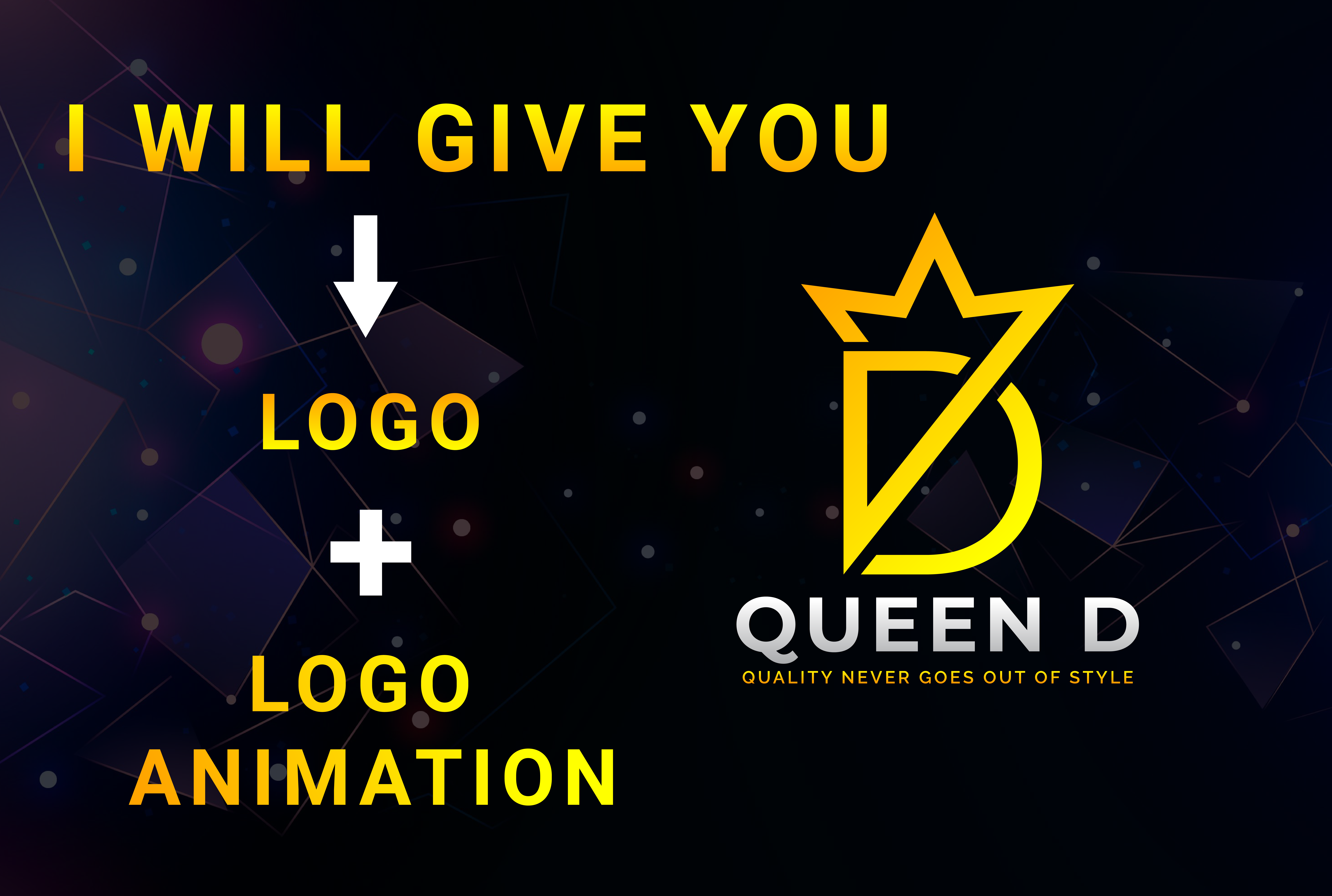 I will design Logo animation in Your Youtube intros & outros