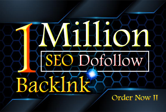 1 million dofollow blogcoment backlink with faster indexing for rank