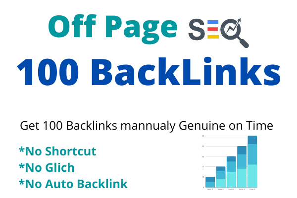 Get 100 Backlink mannualy Genuine on Time