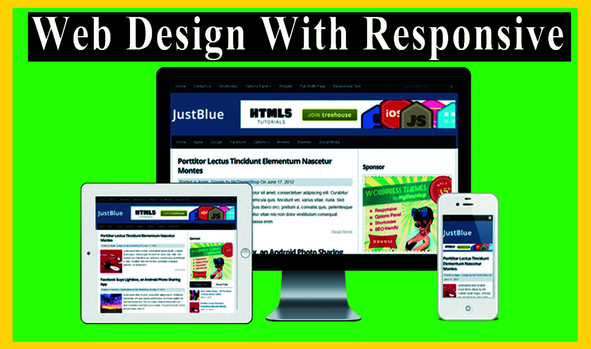 I will do build professional WordPress website and attractively responsive web design