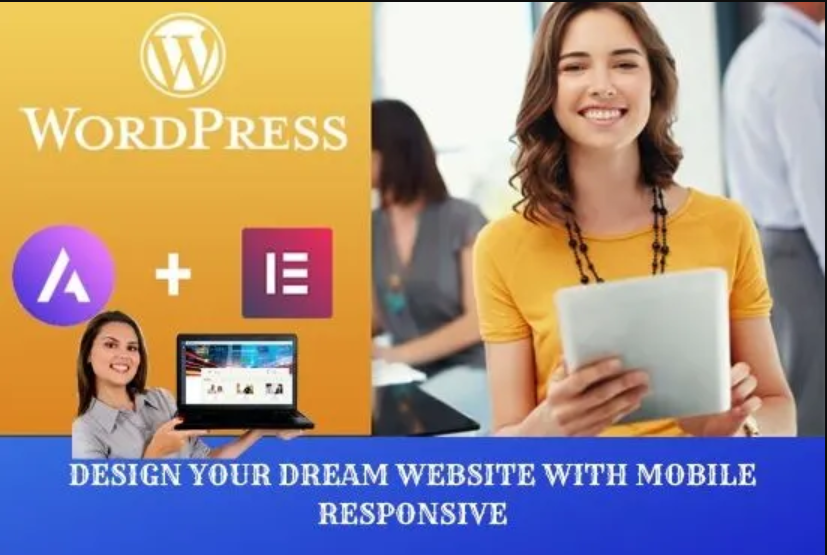 I will do design your wordpress website using elementor pro page builder