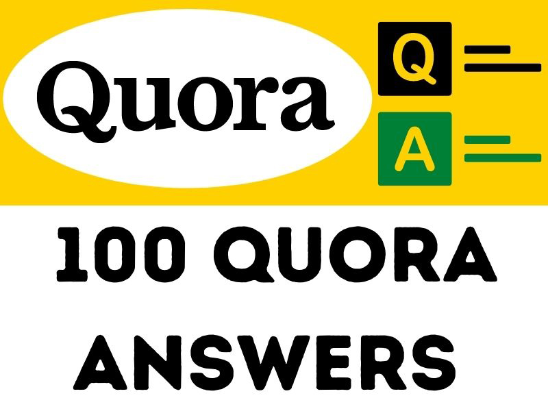 100 Quora Answers will Describe your services and Boost your Website
