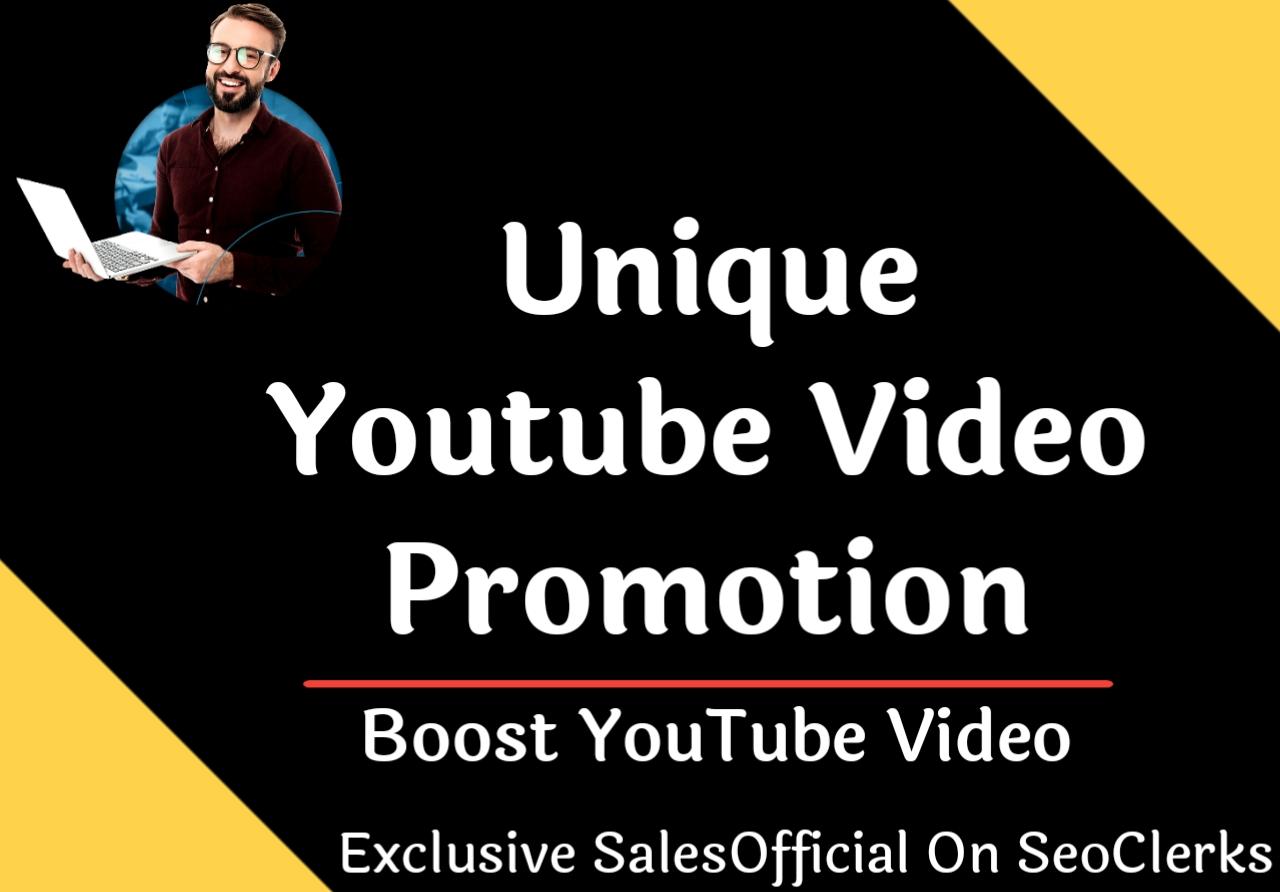 Unique Youtube video promotion