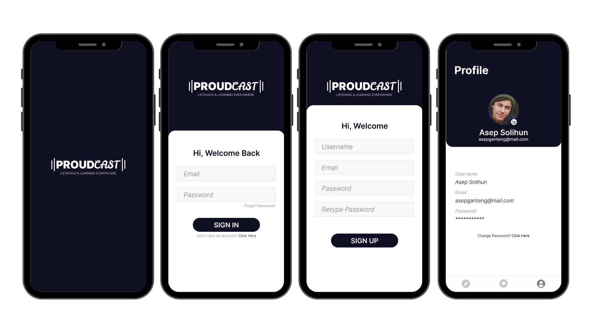 I will create a professional UI design