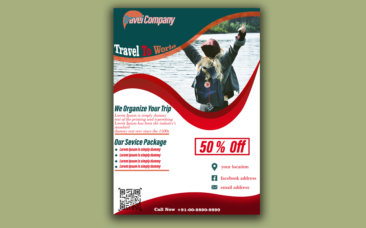 I WILL CREATE FLYER DESIGN FOR YOU