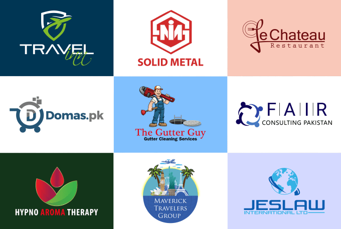 I will do professional minimalist logo design for your business
