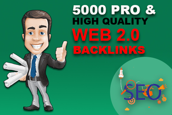 high quality pro web 2.0 backlinks for seo