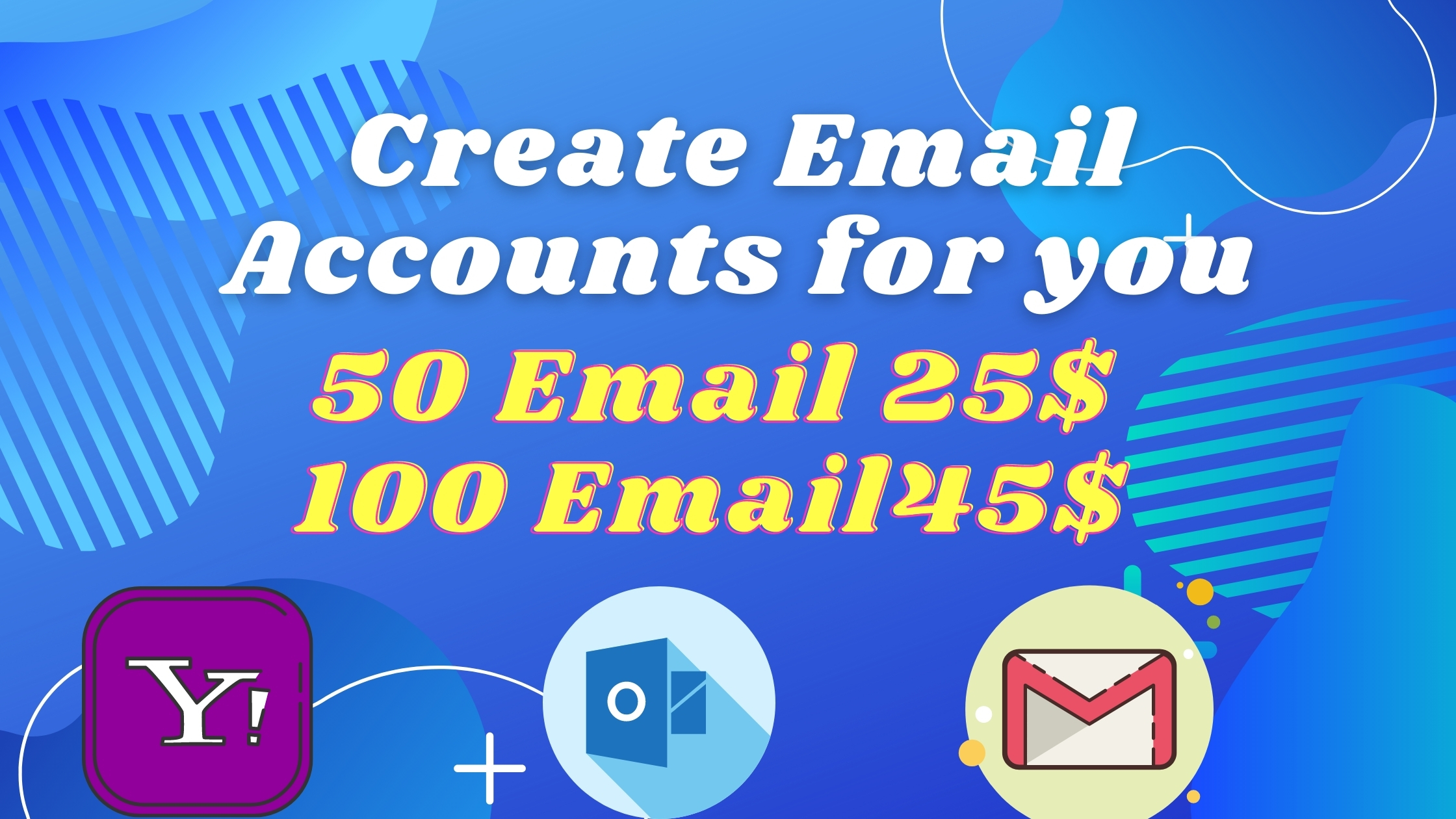 Create unlimited verified email accounts