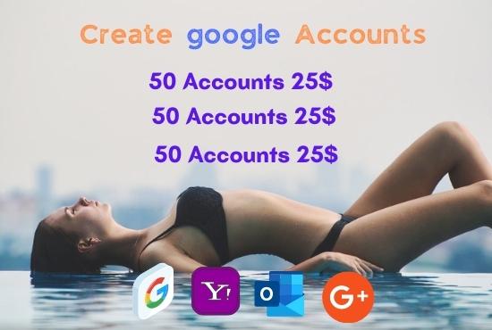 Create and setup email accounts