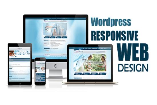 Website Design,  Customization & Setup