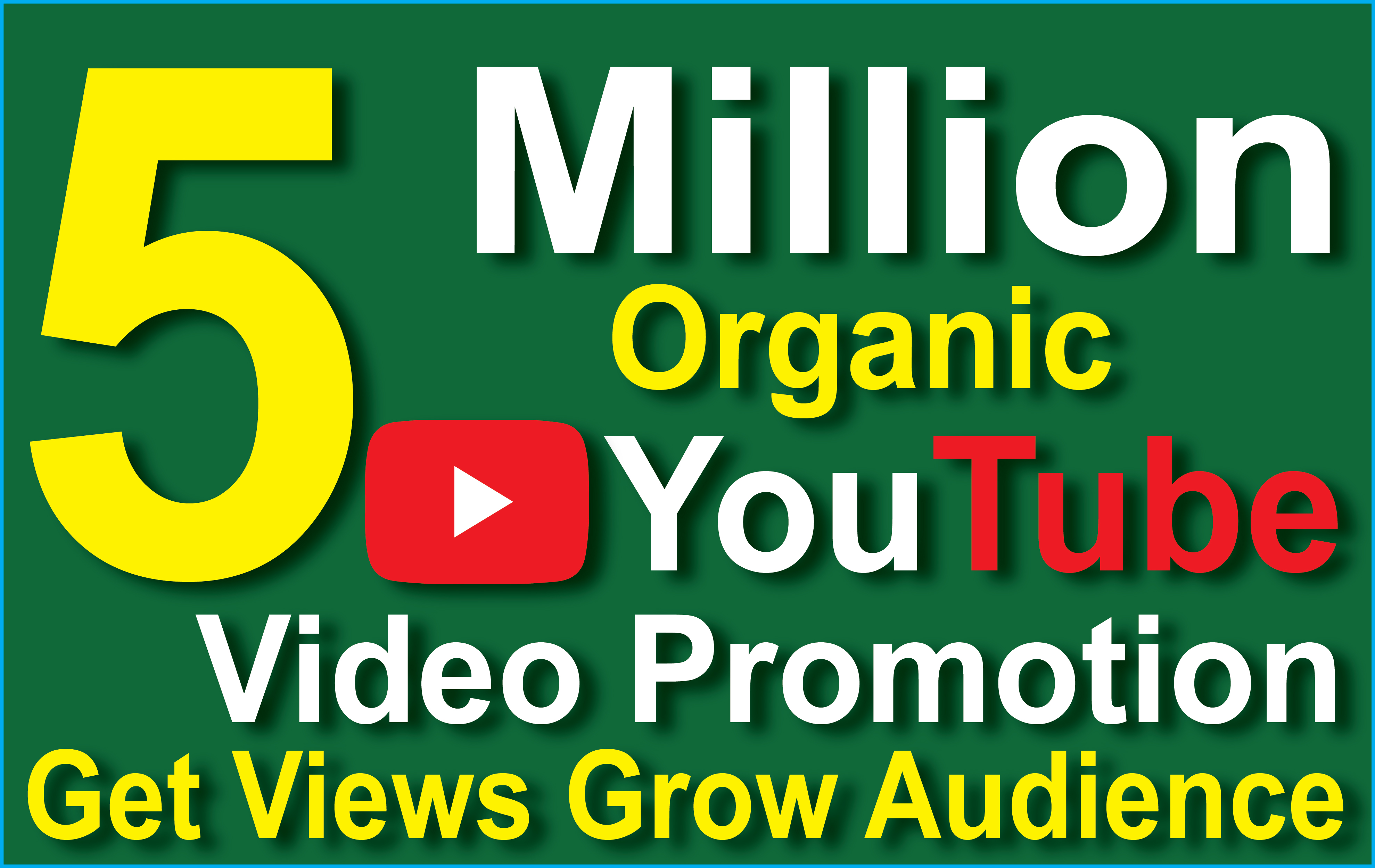 5 Million Super fast organic YouTube video promotion with GSA SER high quality seo backlinks