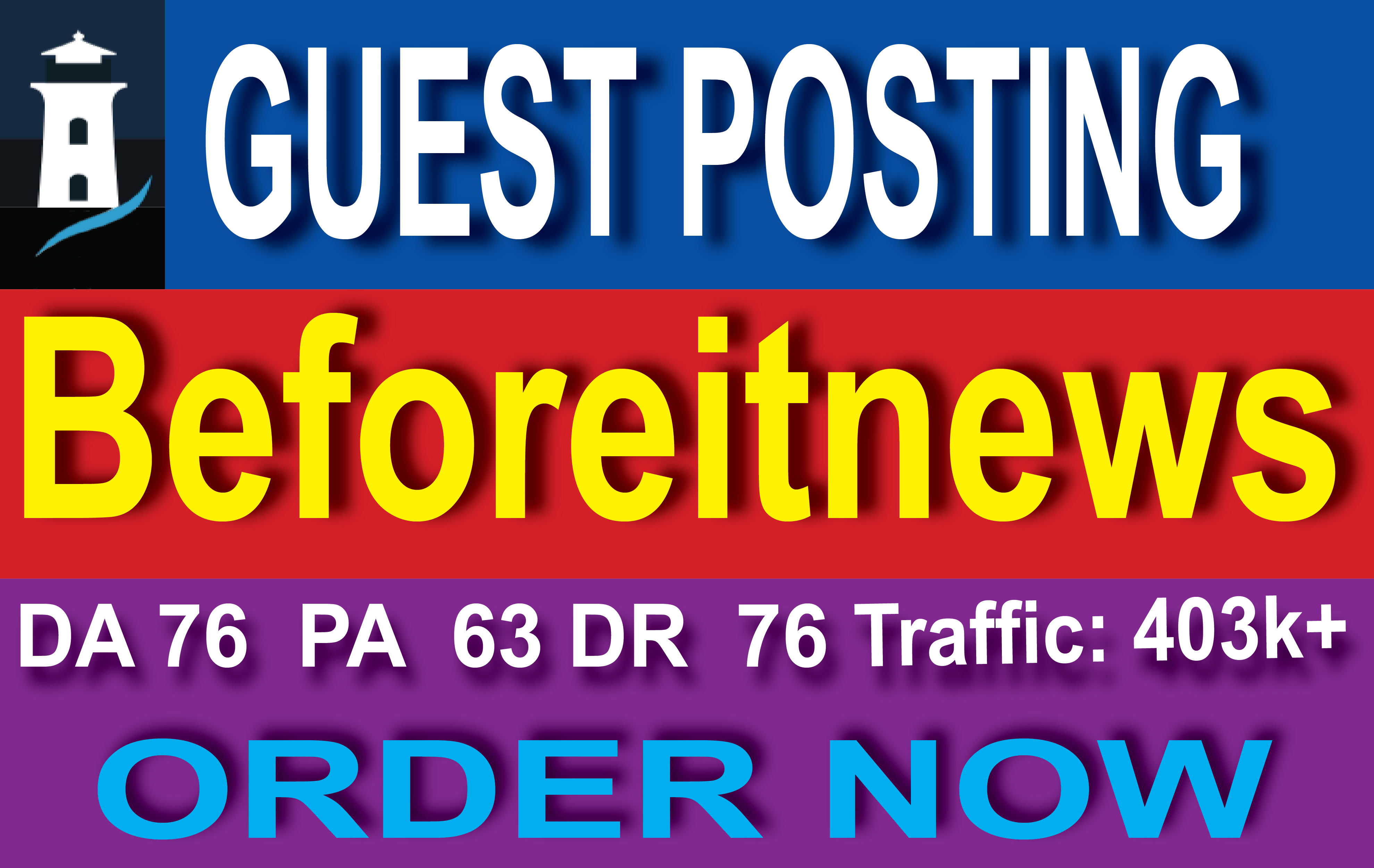 I will publish guest post on beforeitsnews. com