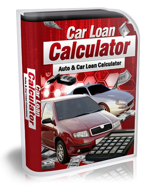 Auto & Car Loan Calculator software for car buyers and financers