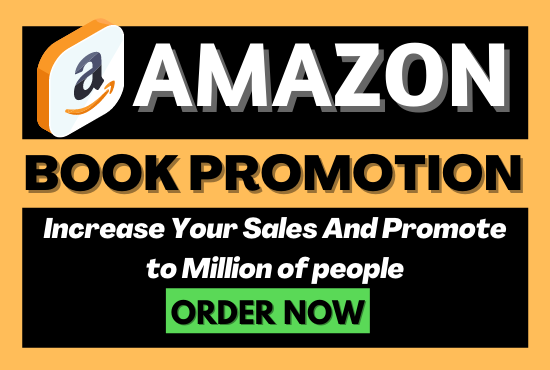 I will promote book and ebook and amazon kindle book promotion