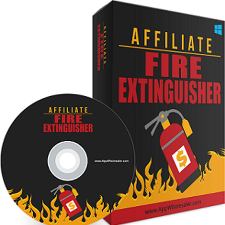 AFFILIATE FIRE EXTINGUISHER FOR BOOST YOUR AFFILATE COMMISSION