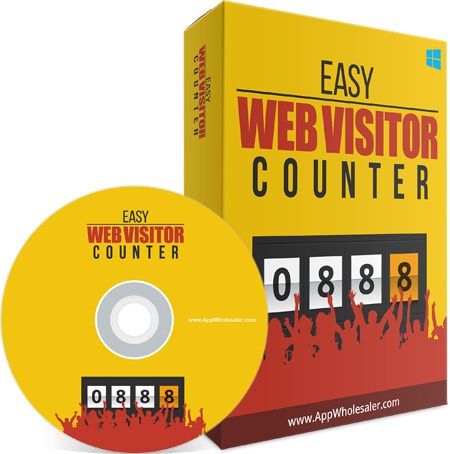 EASY WEB VISITOR COUNTER FOR DISCOVER HOW MANY PEOPLE VISITING YOUR WEB PAGESWEB