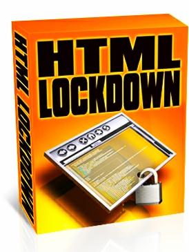 HTML LOCKDOWN FOR HTML NEW USER.