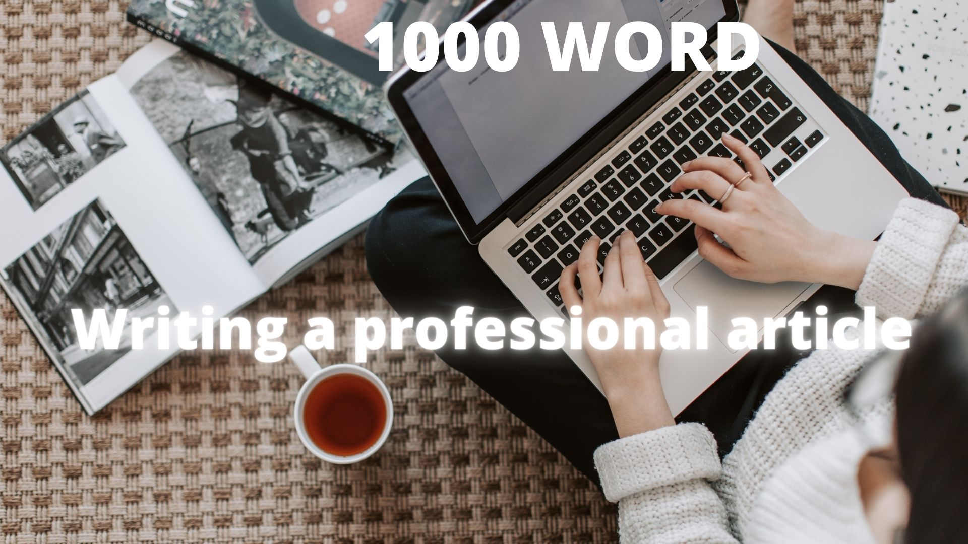 Writing a Professional article in all fields