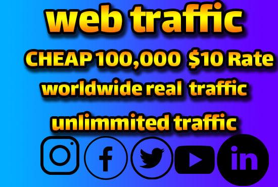 Organic web 2000 + traffic promotion for websites