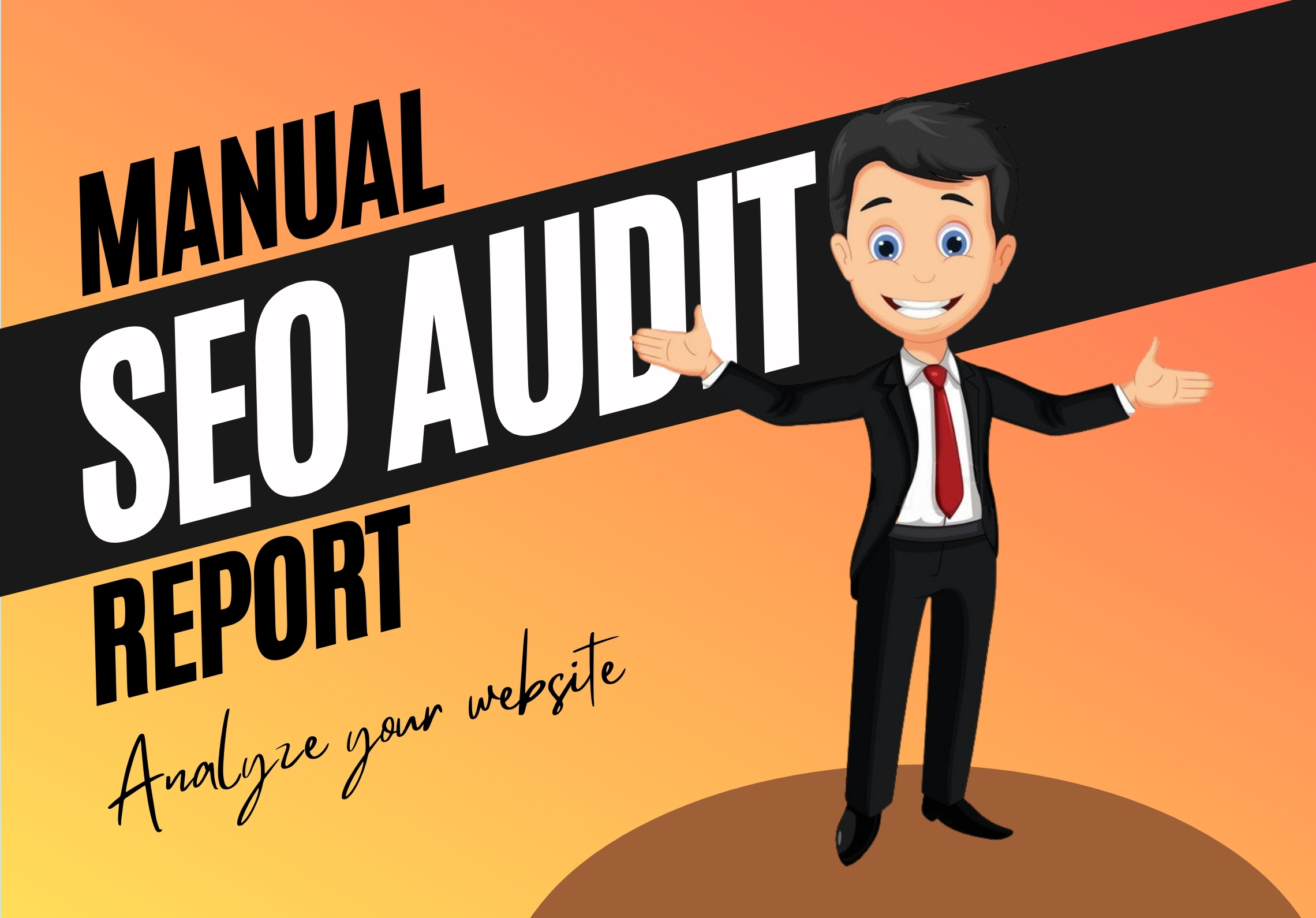 I will create a manual SEO audit report and analyze your website