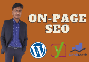 I will do complete On Page SEO for WordPress website