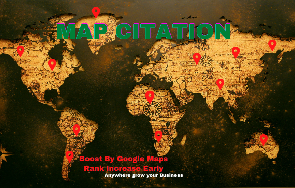 I will do 200+ live google map citations for local SEO
