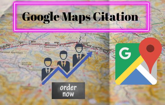 I will do 200+ google maps citations for local business SEO