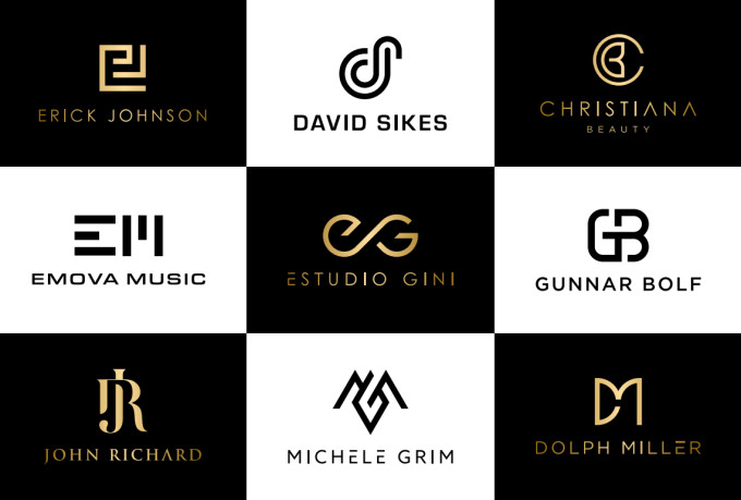 i will design modern luxury logos for your businesses