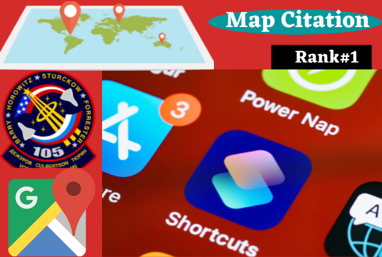 Manual 500 Google Maps Citation Permanent backlinks to rank up on first page