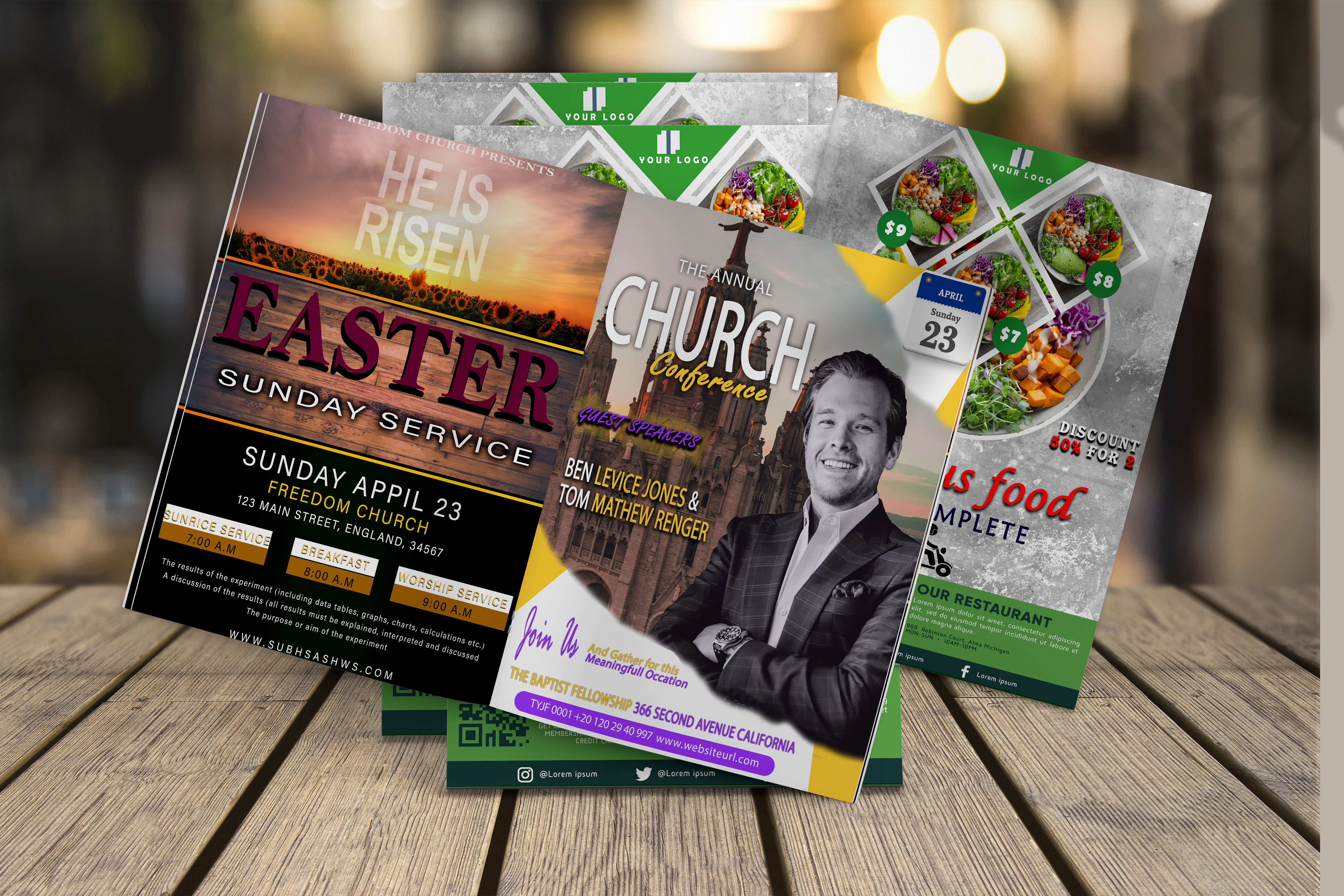 I will design flyers for your business,  event,  and party